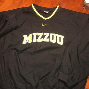 Nike mizzou sweater black size M like new